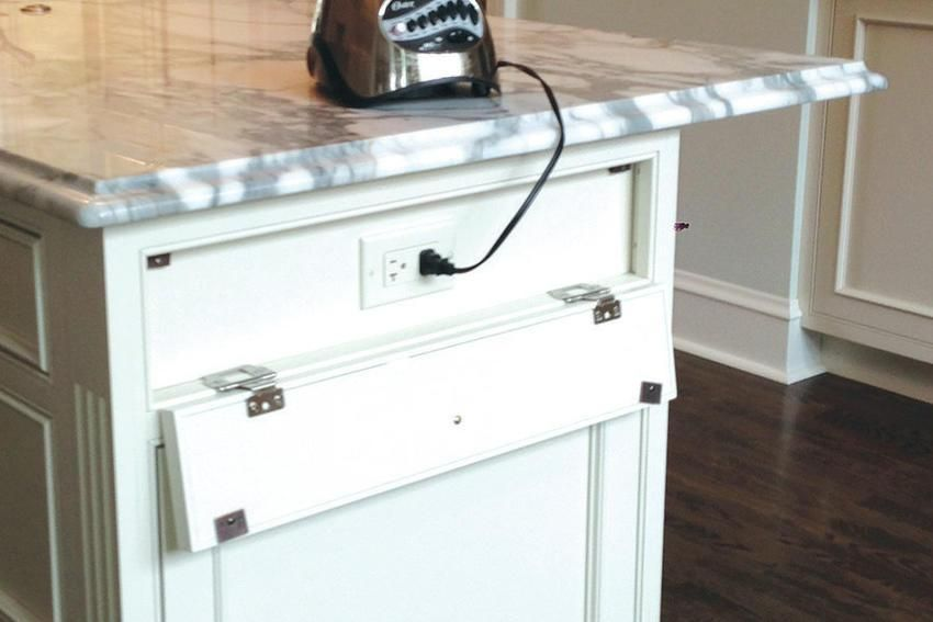 gohelpmate kitchen island electric plug